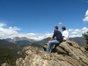 pastor's wife blog - two sons on mountain